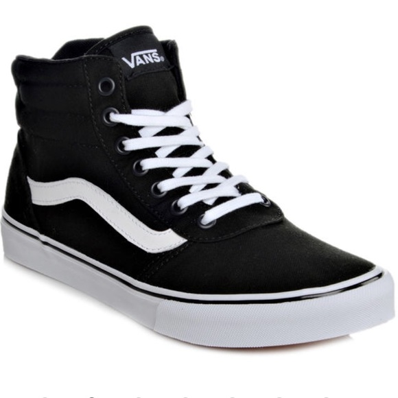 c60206a705bd8b NIB women s VANS high tops shoes 👟